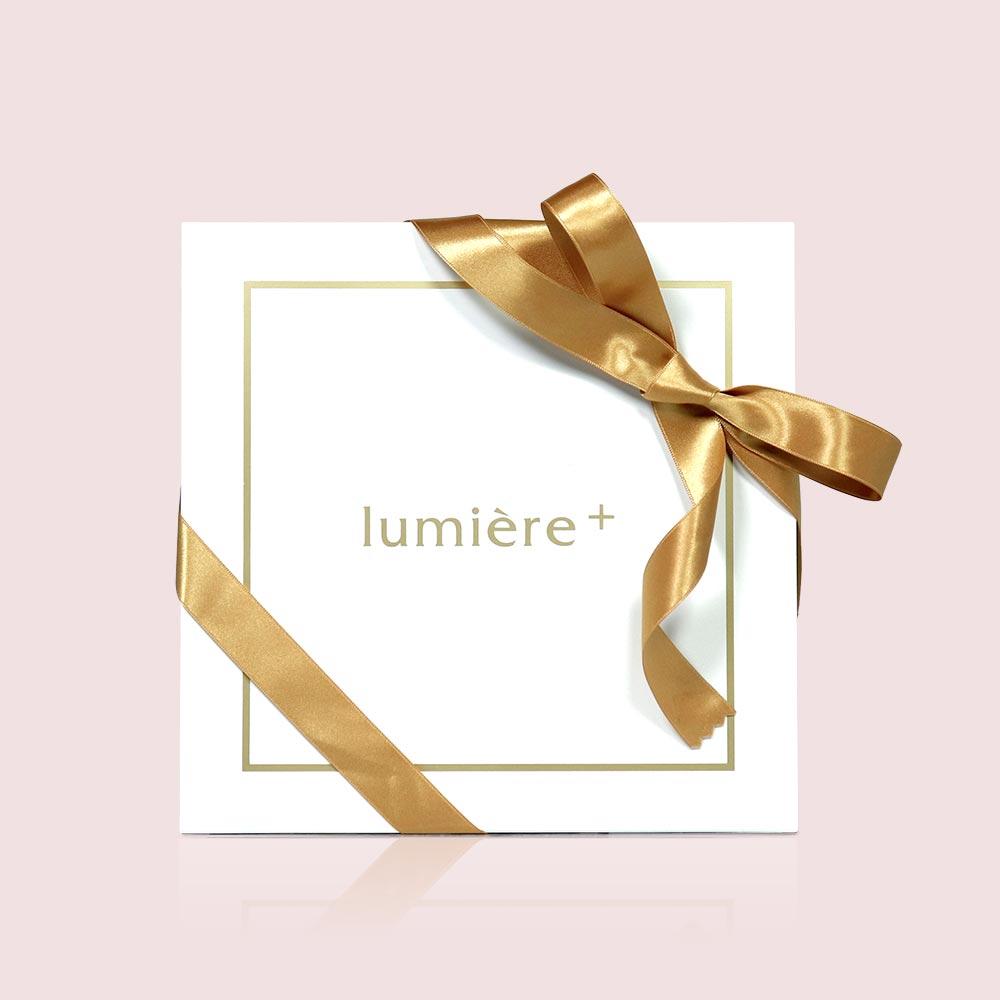 lumiere+ ギフトボックスの外装