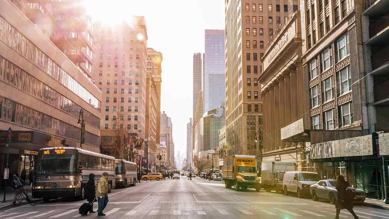 ニューヨーク風景